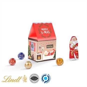 Werbeartikel Weihnachten.Standbodenbox Lindt Weihnachten