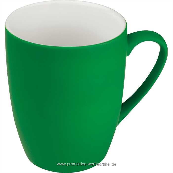 Fassungsvermögen Farbe Kaffeetasse schwarz Porzellantasse 300 ml