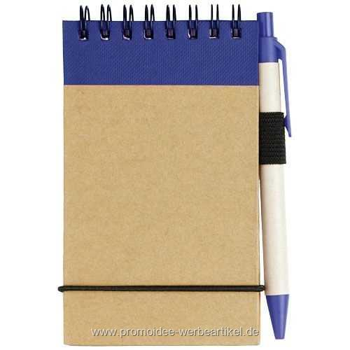 Zuse A7 Recycling Notizblock mit Stift